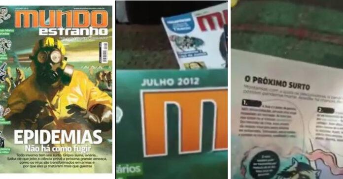 Revista Mundo Estranho de 2012