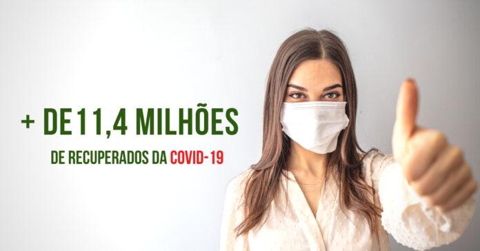 11,4 MILHÕES DE RECUPERADOS